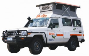 4wd campers for hire pop top style
