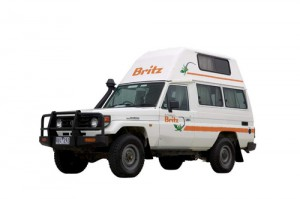 4wd campers for hire hi top type