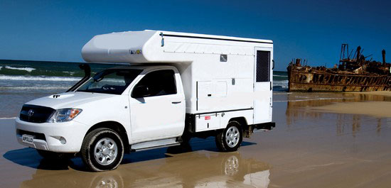 Toyota 4WD Camper http://4wdcamperhiredarwin.com.au/types-of-4wd-campers-for-hire/