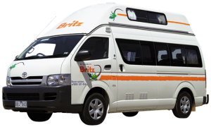Mid price campervan rental darwin